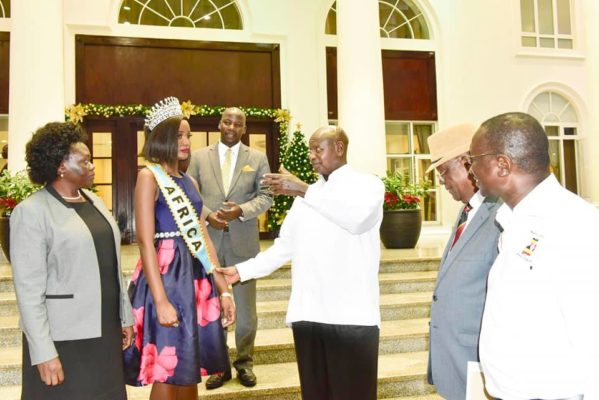 'Stop Wearing Indian Hair': President Museveni Advises Miss World Africa