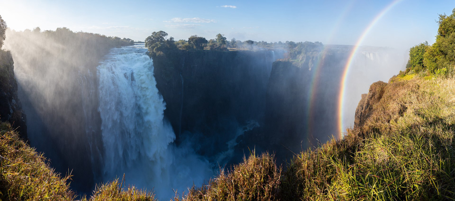 Iconic Victoria Falls Drying Up Due To Climate Change The
