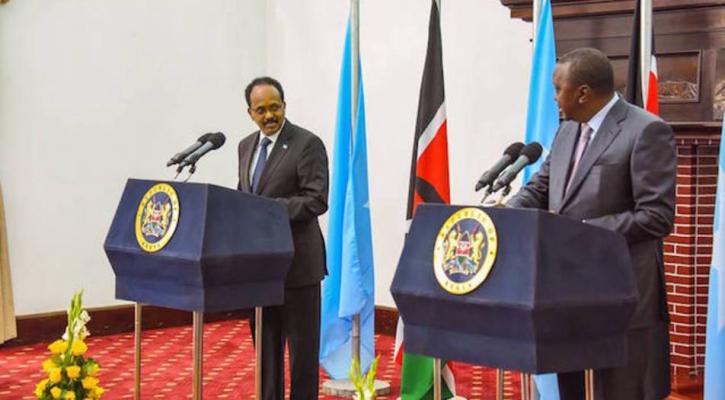 President Kenyatta, Farmaajo Meet to Normalize Kenya-Somali Relations | The  African Exponent.