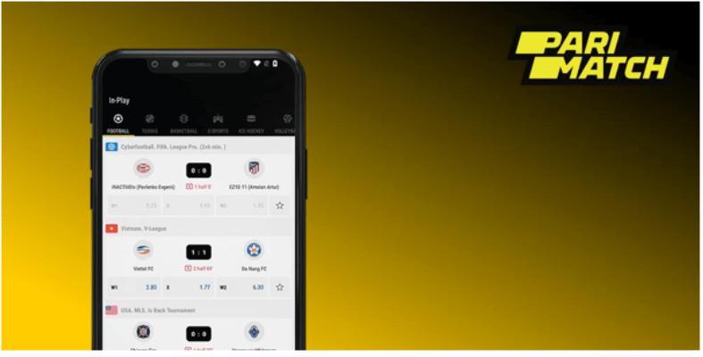 Parimatch mobile betting wagershack uppgjorda matcher bettingadvice