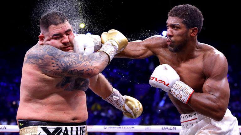 Anthony Joshua Nigeria Map Tattoos: British-Nigerian Boxing Champion, Anthony Joshua To Fight
